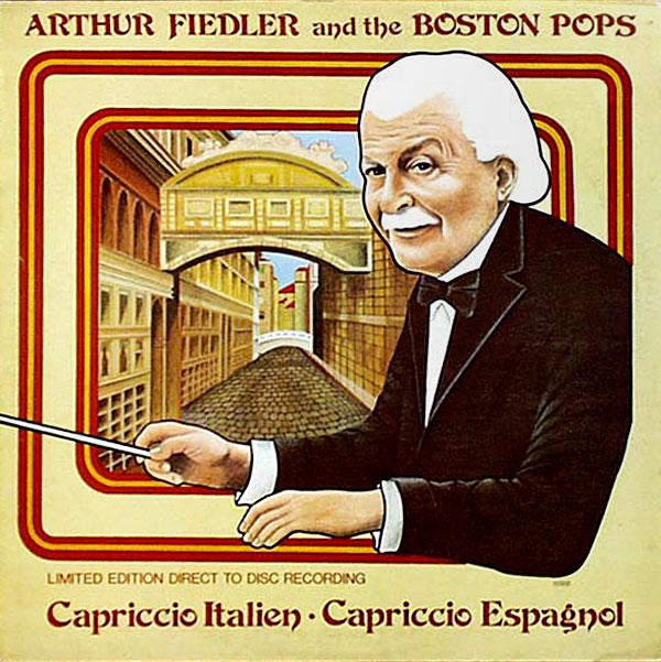 Recording of August 1980: Capriccio Italien & Capriccio Espagnol