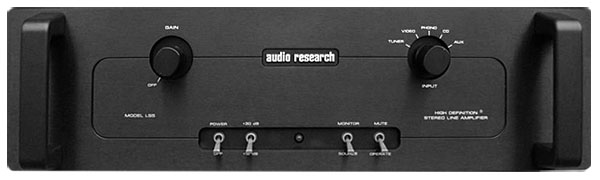 Audio Research LS5 preamplifier & BL2 input controller