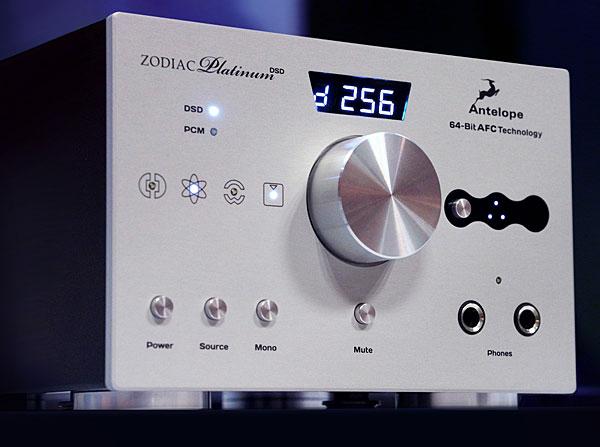Antelope Audio Zodiac Platinum D/A processor–headphone amplifier & Voltikus power supply