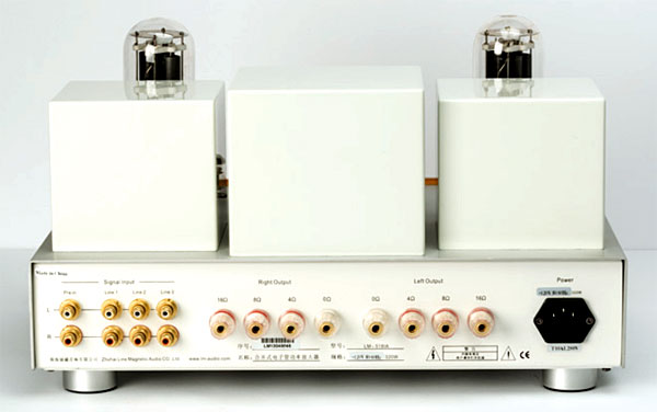 Line Magnetic Audio LM-518IA integrated amplifier | Stereophile com