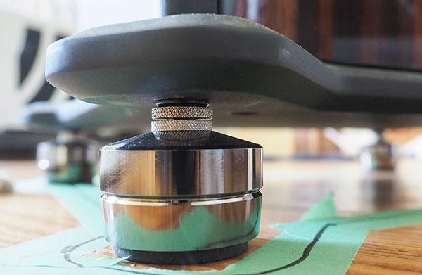 IsoAcoustics Gaia loudspeaker isolation feet