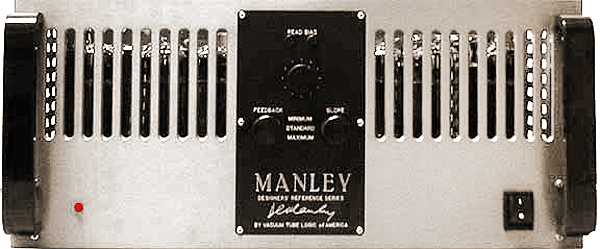 VTL/Manley Reference 350 power amplifier