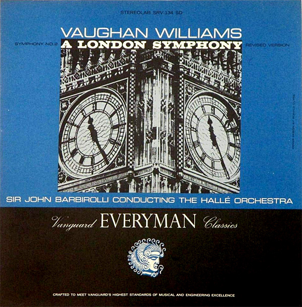 Recording of August 1964: Vaughan Williams: Symphony No.2