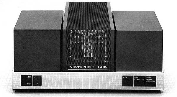 Nestorovic Alpha-1 power amplifier