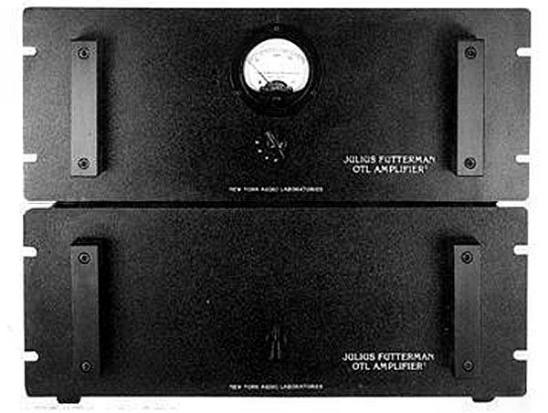 New York Audio Laboratories Futterman OTL-1 power amplifier