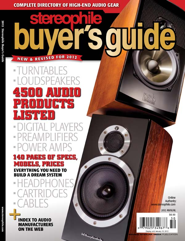 now on newsstands the 2012 stereophile buyer s guide stereophile com rh stereophile com Projectors for Home Theater Local Theaters