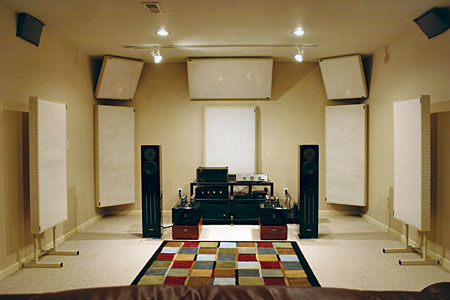 Realtraps room treatments - Bedroom studio acoustic treatment ...