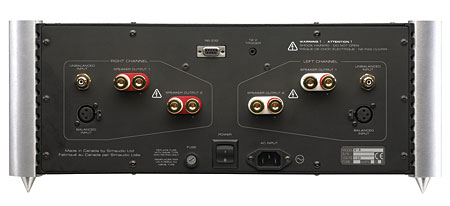Simaudio Moon Evolution W 8 Power Amplifier Stereophile Com