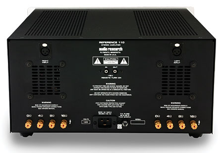 Audio Research Reference 110 Power Amplifier Stereophile Com