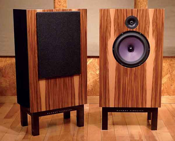 Handmade In Brooklyn New York The O 96 Is A Two Way Reflex Loaded Stand Mounted Speaker With Rated Sensitivity Of 96dB W M And An Unusually High