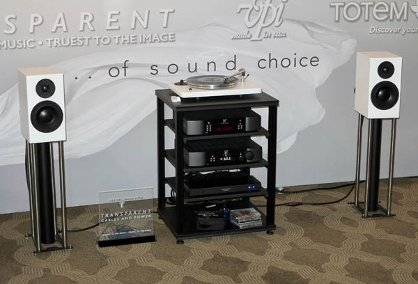 A Winner from VPI, Totem, Transparent, and Simaudio
