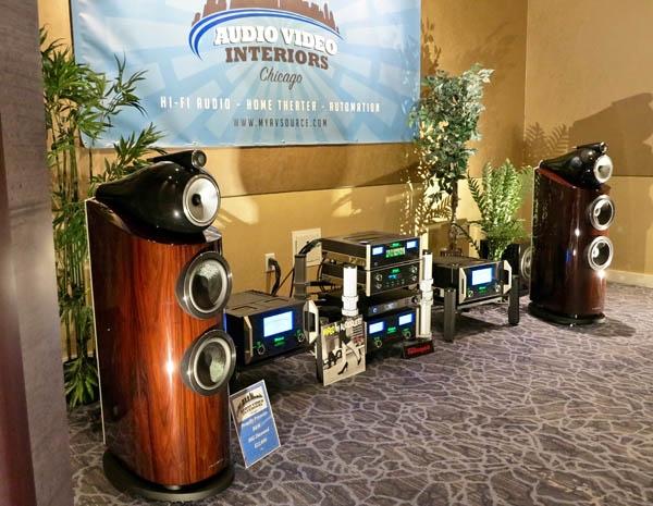 McIntosh MC-611 Monoblocks, Bowers & Wilkins 802D Loudspeakers