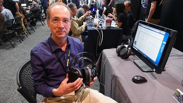 Janszen Lotus Electrostatic Headphones