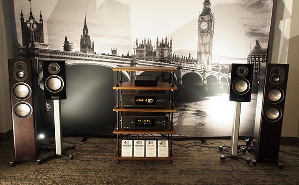 Monitor Audio Gold Speakers, Roksan Blak Amplifier & CD Player