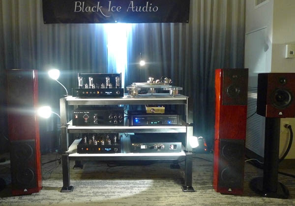 Black Ice Fusion F11 Amplifier, Living Sounds Audio FSA-20 Loudspeakers, Clearaudio Champion Turntable