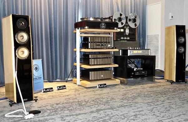 Rowland Conductor Phono Preamp, Joseph Audio Perspective2 Graphene Speakers, Cardas Nautilus Power Strip, Audio-Technica ART 1000 Cartridge