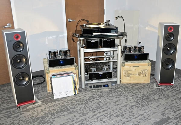 Stenheim Alumine Three Loudspeakers, Einstein The Silver Bullet OTL Mono Amplifiers and The Pickup Phono Cartridge