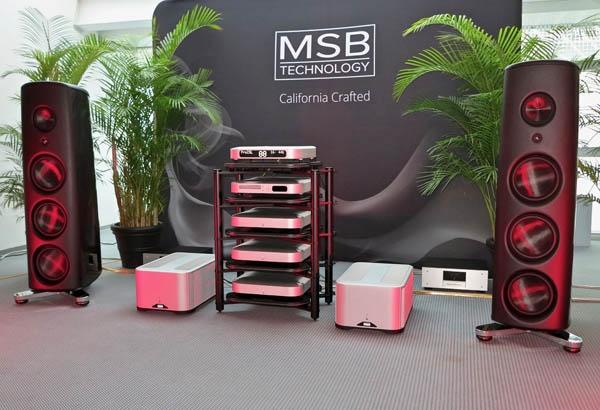 MSB M500 Monoblocks, Magico M6 Speakers, and Analysis Plus Cables