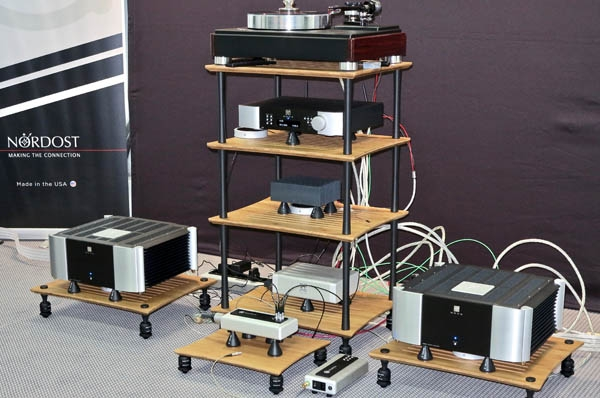 Nordost QPoint, QSource, and Valhalla 2 Tonearm Cable +