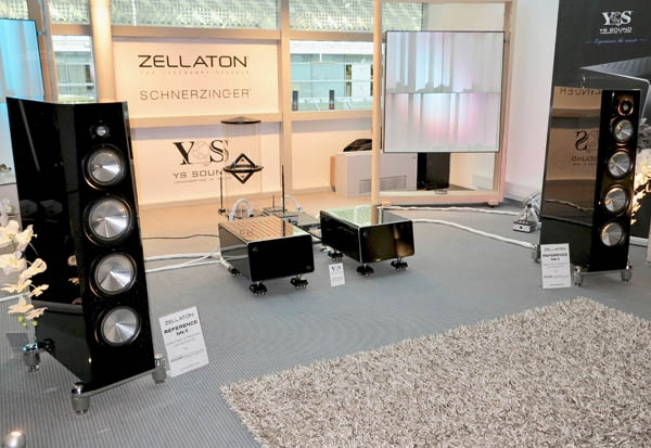 Zellaton Reference MkII Speakers, YS Sound Electronics, Reed Turntable, Top Wing Cartridge, Schnerzinger Cabling