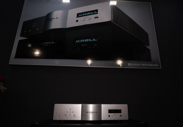 Krell K-300i Integrated Amplifier, Sonus Faber Olympica III Loudspeakers, ZenSati Cabling