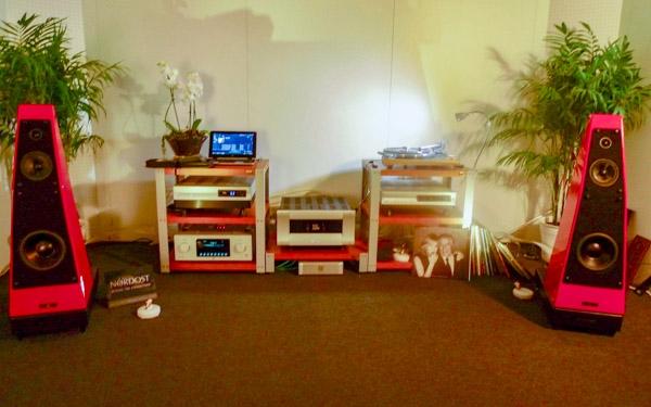 Gershman Grand Avant Garde Loudspeakers, VTL Amplification