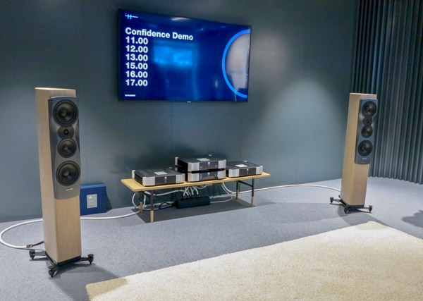Dynaudio Confidence 30 Loudspeakers and Simaudio Moon Electronics