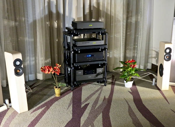 CAD 1543 DAC Mk II, Audio Transport, Ground Controls, & Cabling; Aesthetix Mimas Integrated, Boenicke W8 SE speakers, Bibacord Interconnects, HRX SXR Rack