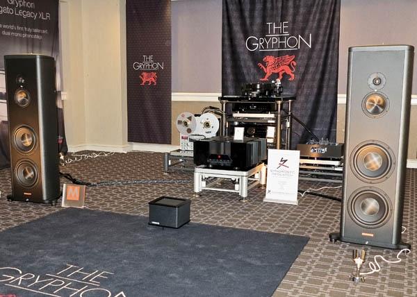 Gryphon Pandora Preamplifier, Magico S5 MkII Speakers, Sonorus Reel