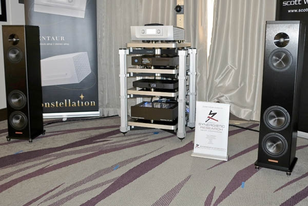 Magico A3 Speakers, Constellation Argo Amp, MSB Discrete DAC, Aurender ACS10 Server, Synergistic Research Accessories