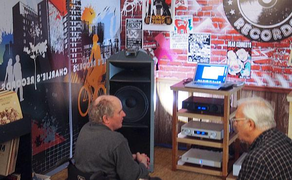 Ayre Acoustics & Charlie's Records | Stereophile com