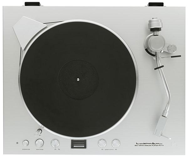 Luxman PD-171 record player   Stereophile com
