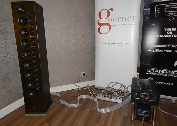 Grandinote Server, Integrated Amplifier, and Speakers, Nordost Cabling