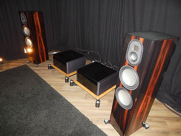 Roksan Record Player, Rotel Electronics, Monitor Audio Speakers, Nordost Cables