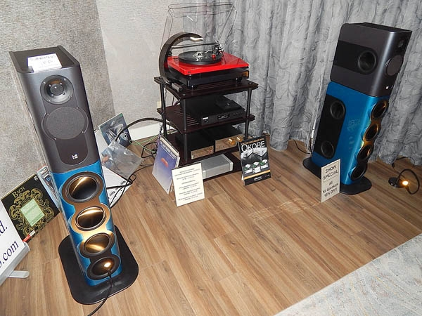 Kii Audio Powered Speakers, Oracle Turntable, Benz Micro Cartridge, Nordost Cables