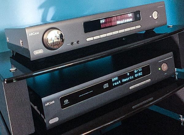 Arcam HDA SA20 and SA10 Integrated Amps and CDS50 SACD/CD Player