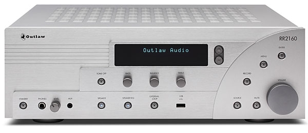 Outlaw Audio RR2160 stereo receiver | Stereophile com