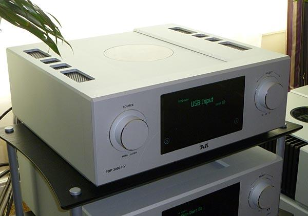 T+A PDP 3000 HV CD/SACD player with DSD/PCM DAC