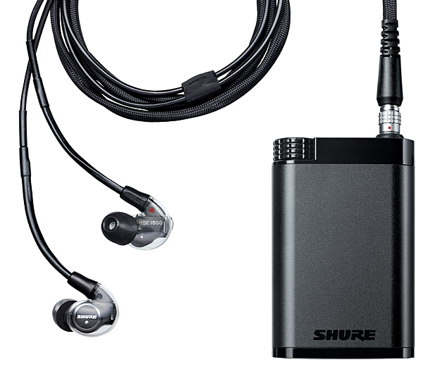 Shure KSE1200SYS electrostatic in-ear headphone system
