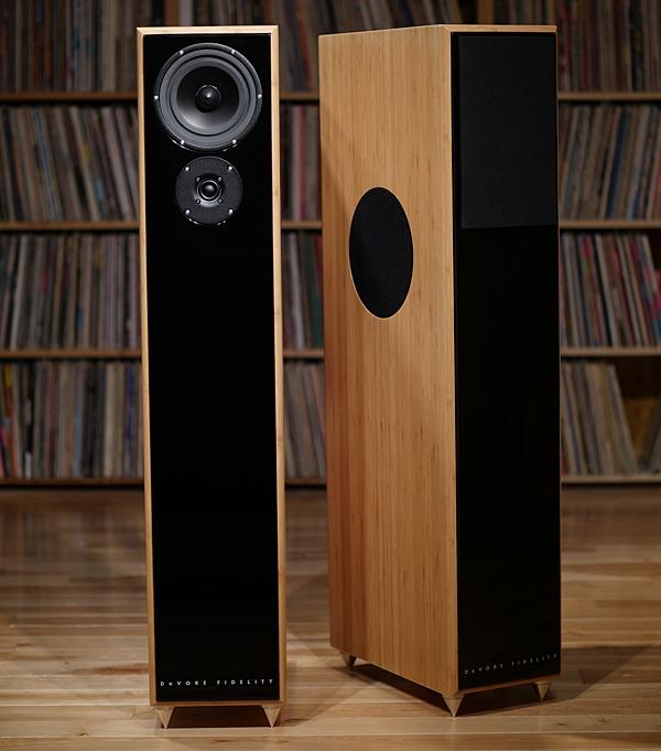 DeVore Fidelity Gibbon X loudspeaker