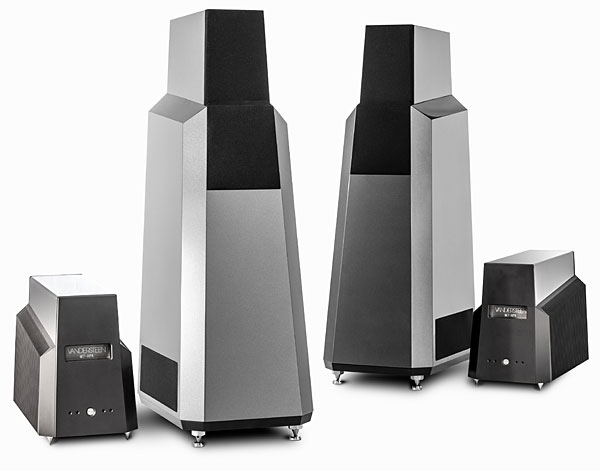vandersteen model seven mk ii loudspeaker m7 hpa monoblock power amplifier. Black Bedroom Furniture Sets. Home Design Ideas