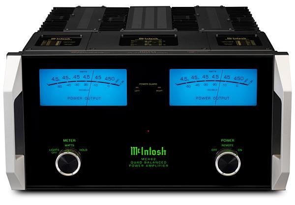 McIntosh Laboratory MC462 power amplifier