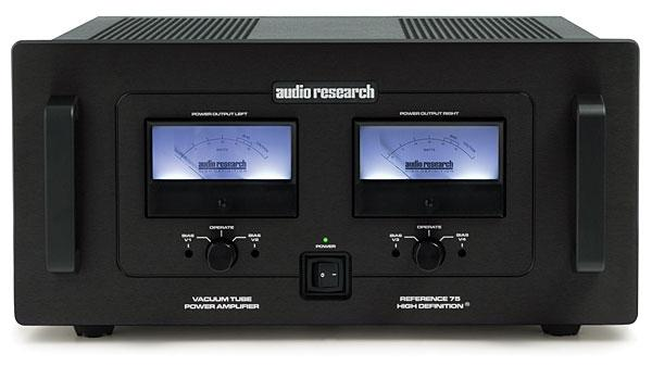 Audio Research Reference 75 power amplifier | Stereophile com