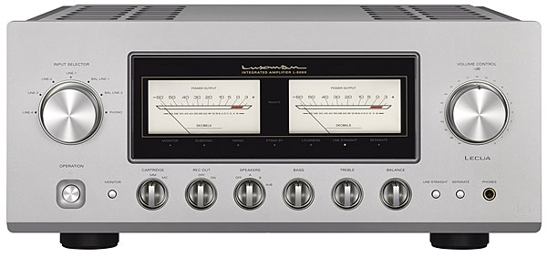 Luxman L-509X integrated amplifier | Stereophile com