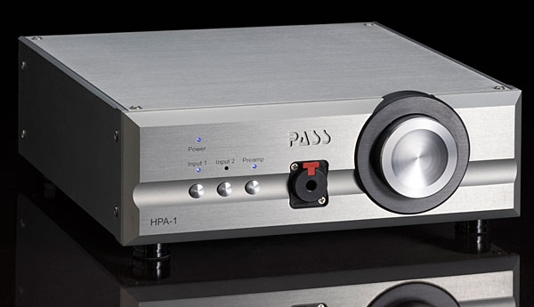 Pass Labs HPA-1 headphone amplifier   Stereophile com