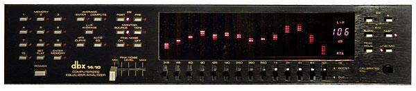 dbx 14/10 graphic equalizer | Stereophile com
