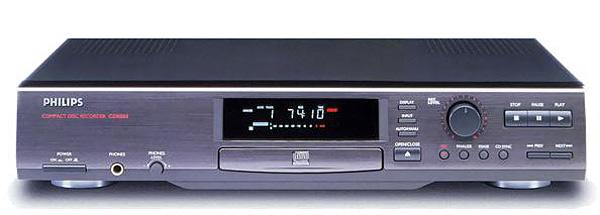 Philips CDR880 CD-R/RW CD recorder