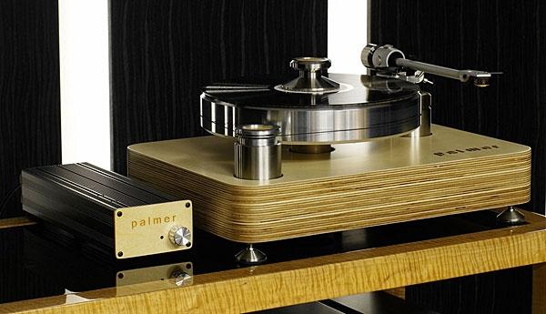 Palmer Audio 2 5 turntable & Audio Origami PU7 tonearm