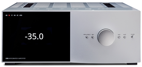 Anthem Electronics STR D/A integrated amplifier | Stereophile com