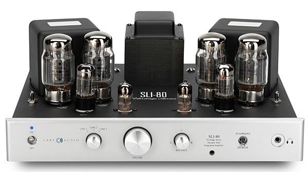 Cary Audio SLI-80HS integrated amplifier